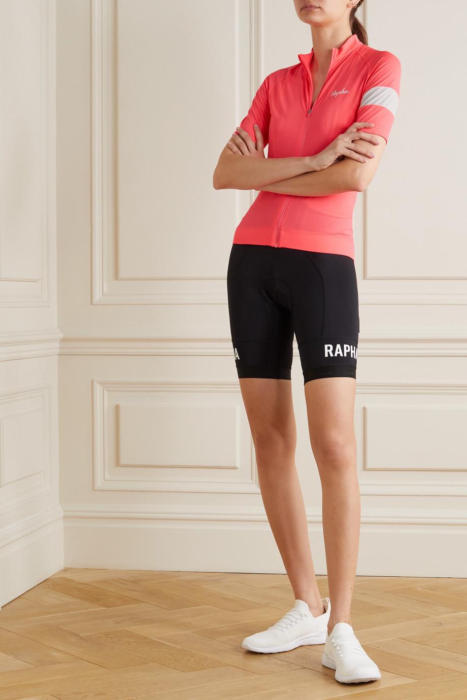 Rapha Pro Team Training mesh-paneled recycled stretch bib shorts
