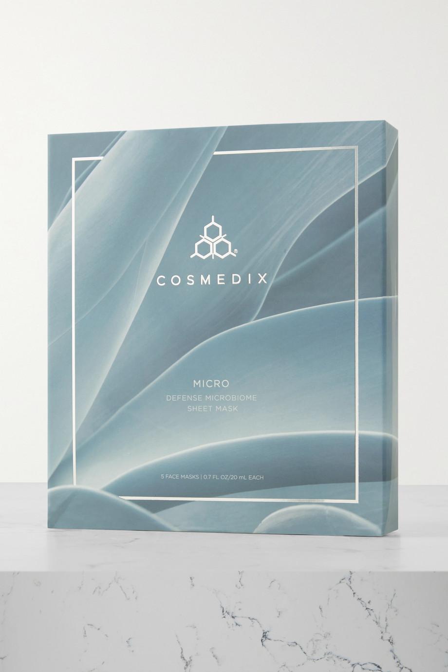Cosmedix Micro Defense Microbiome Sheet Mask x 5 – 5 Gesichtsmasken