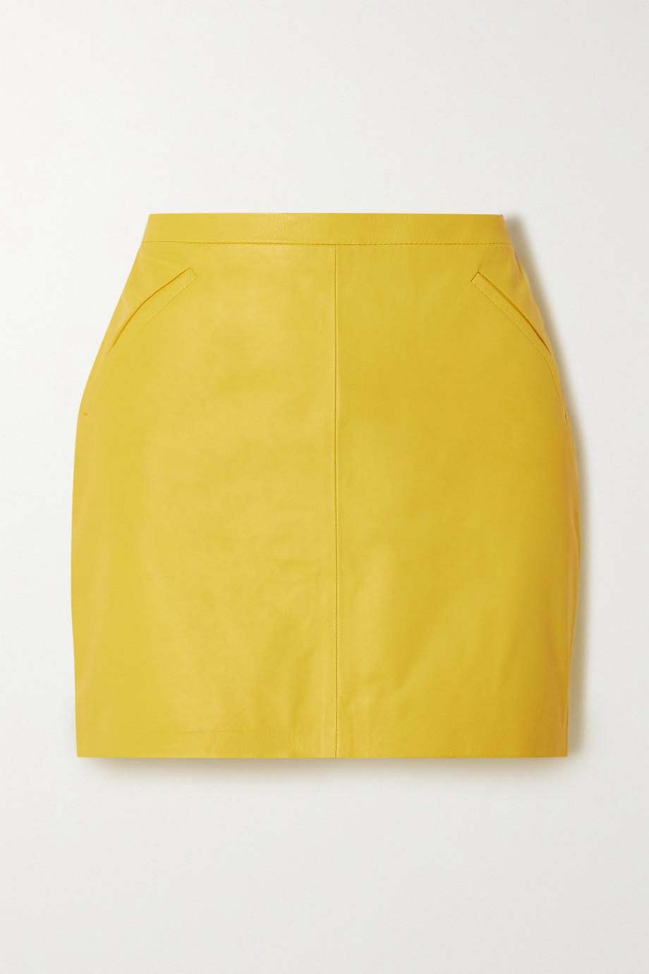 TOM FORD Leather mini skirt