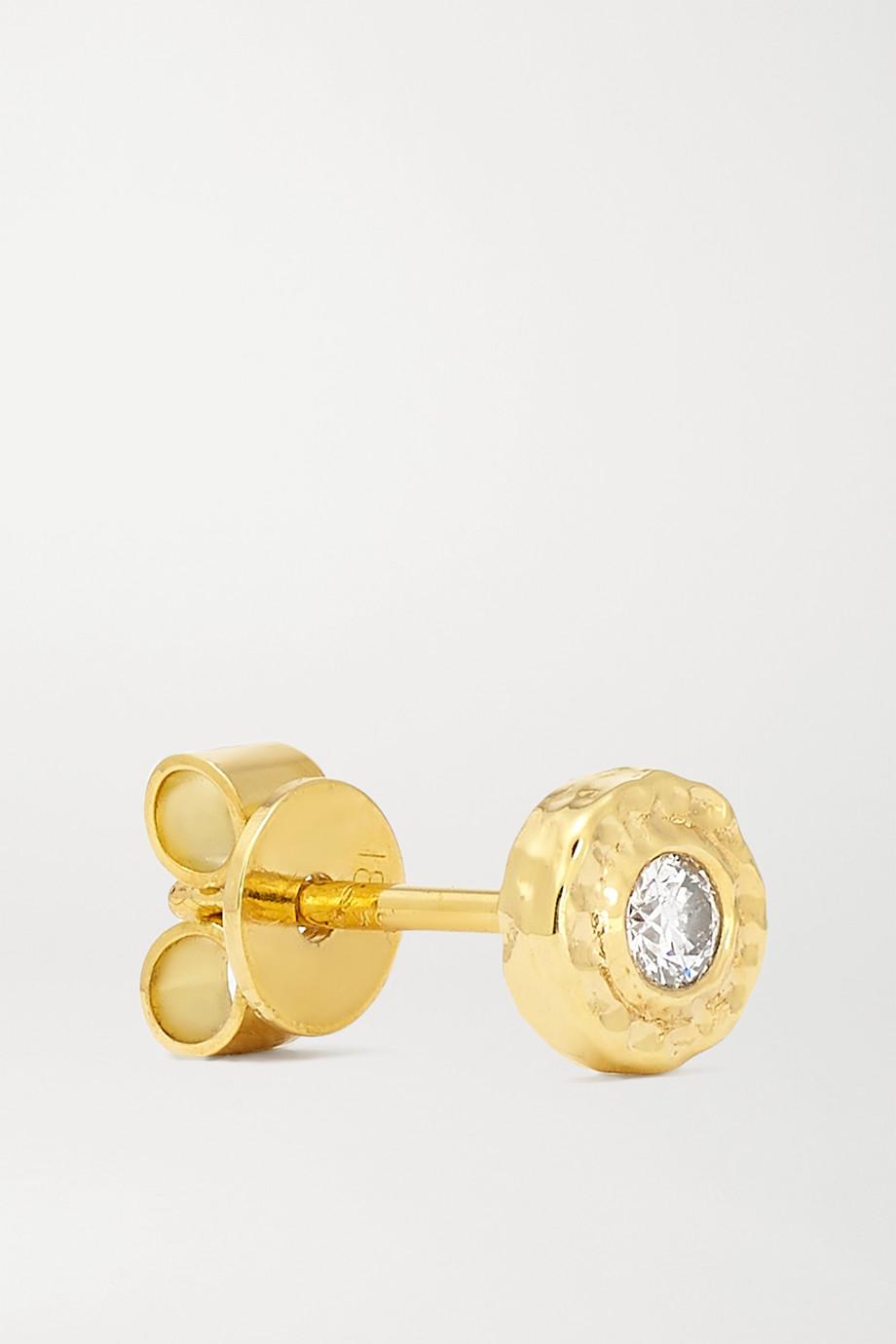 Octavia Elizabeth + NET SUSTAIN Nestling Gem 18-karat gold diamond earrings