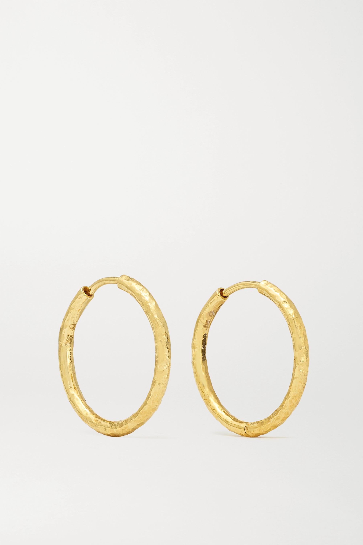 Octavia Elizabeth + NET SUSTAIN Gabby Creolen aus 18 Karat Gold
