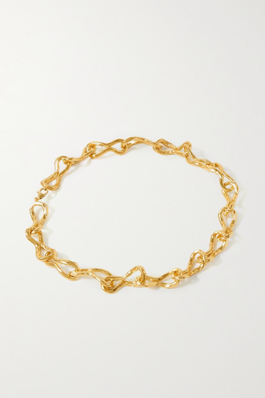 Alighieri The Unwinding Constellation gold-plated choker