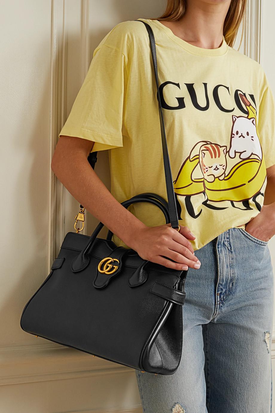 Gucci Sac à main en cuir Dahlia Medium