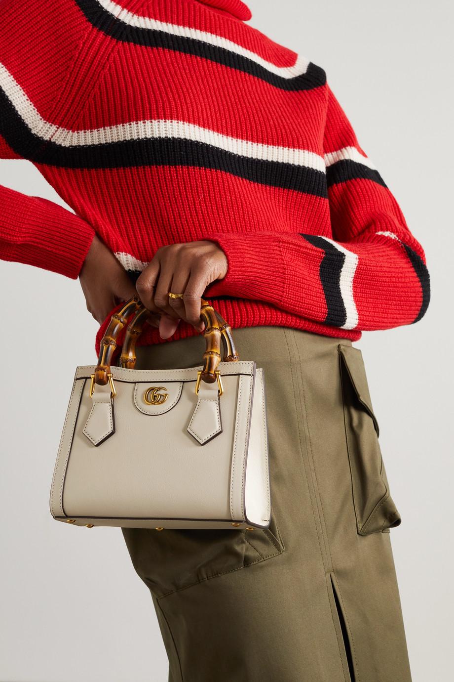 Gucci Sac à main en cuir texturé Diana Mini