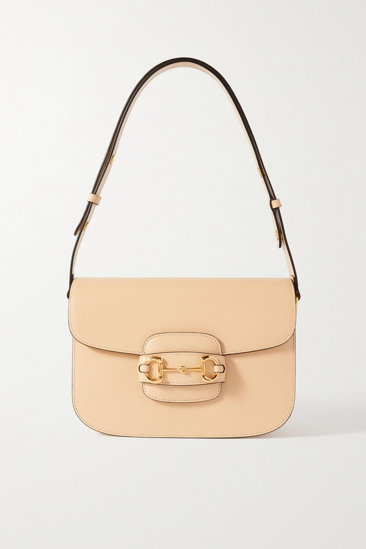 Gucci Horsebit 1955 medium textured-leather shoulder bag