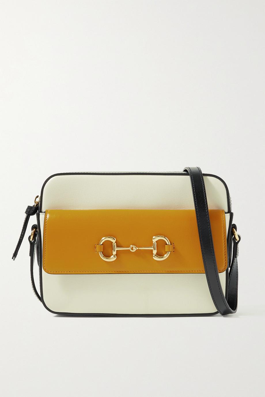 Gucci Horsebit 1955 small color-block leather shoulder bag