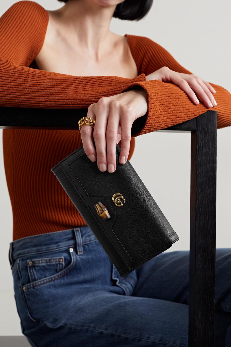 Gucci Diana textured-leather shoulder bag