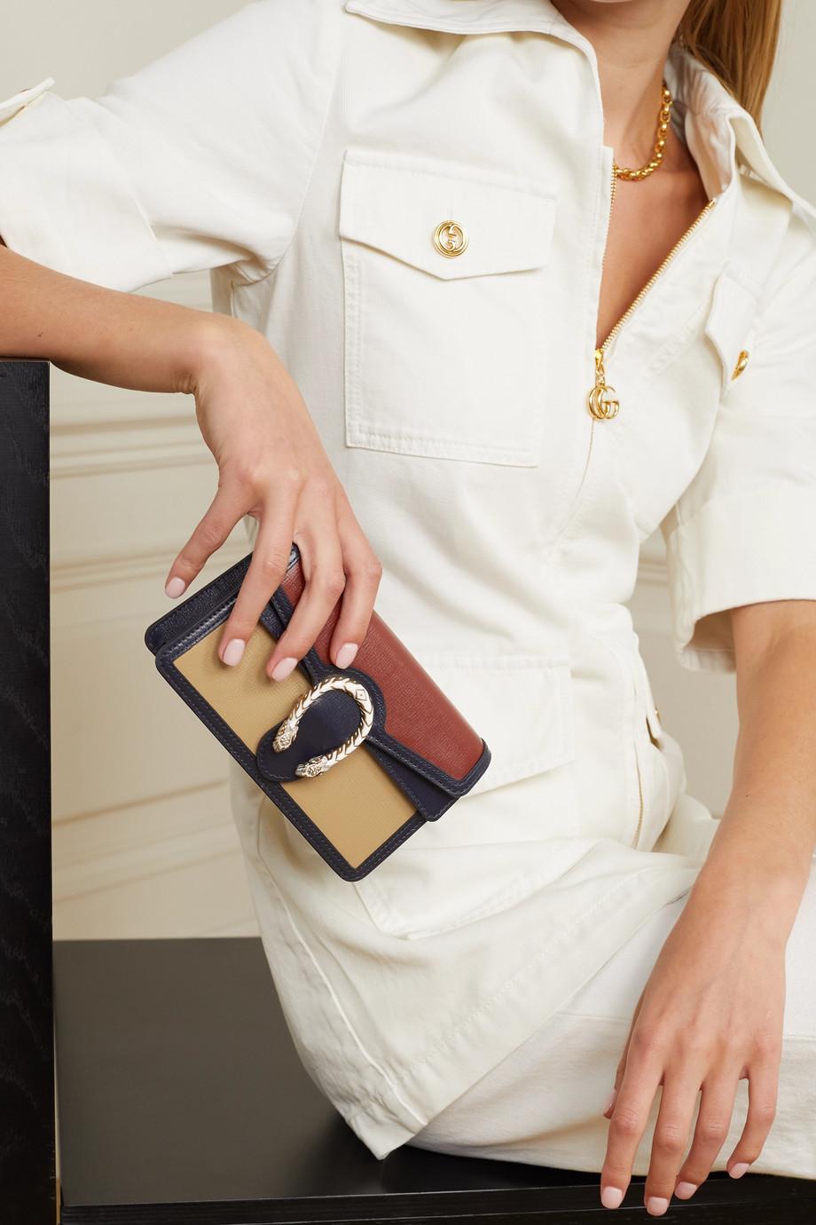 Gucci Sac porté épaule en cuir Dionysus Super Mini