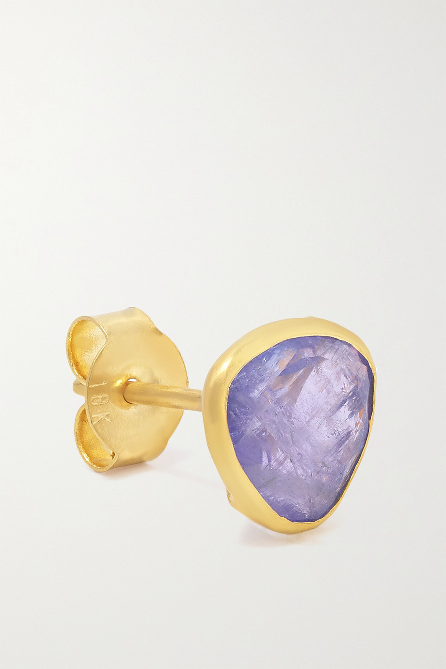 Pippa Small Small Classic 18-karat gold tanzanite earrings