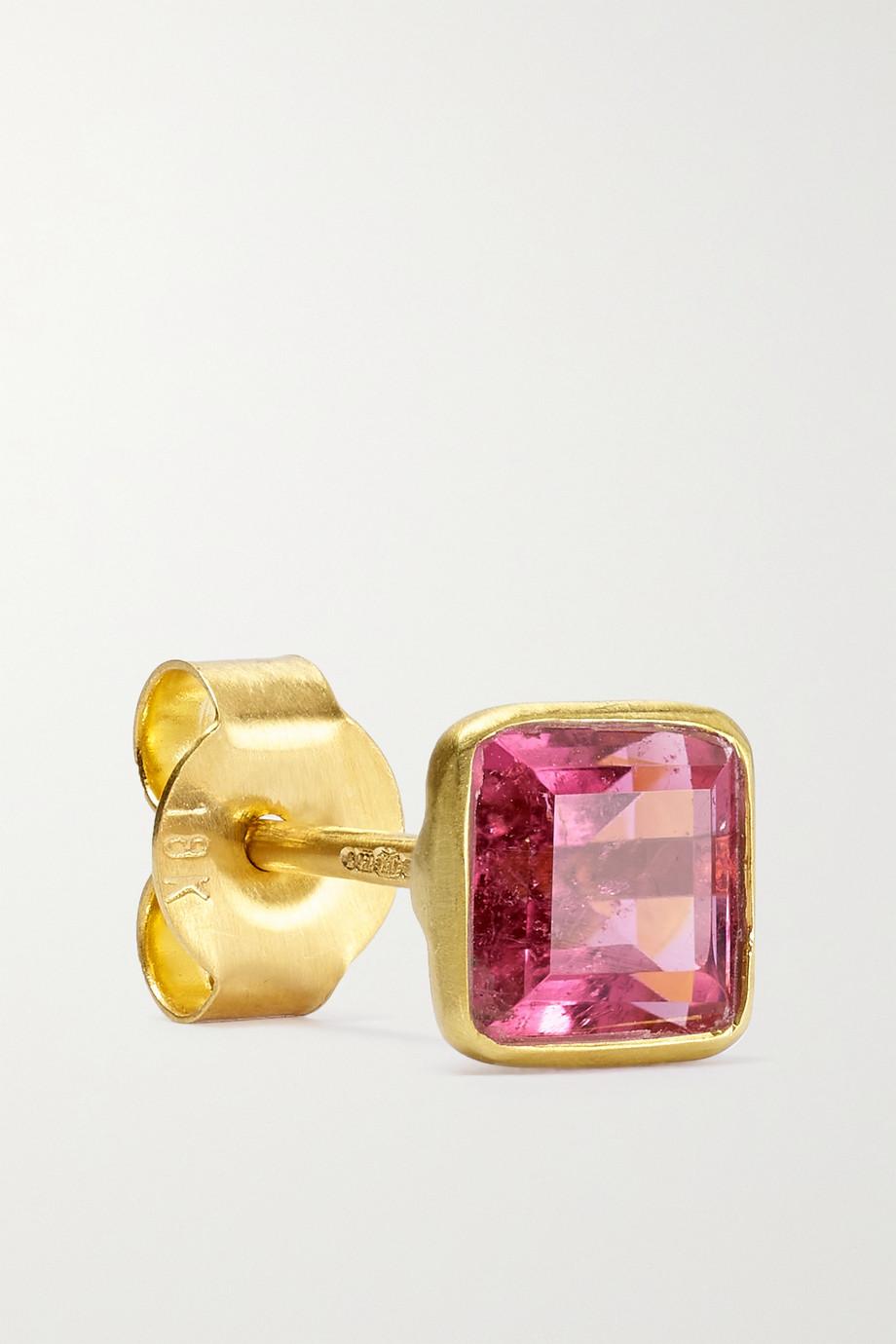 Pippa Small Ohrstecker aus 18 Karat Gold mit Turmalinen