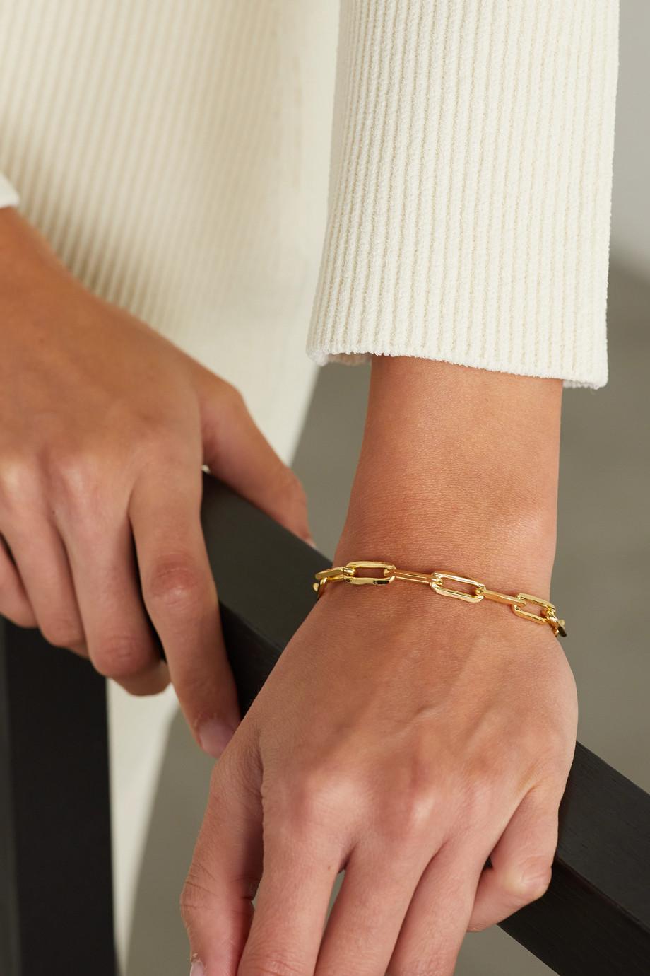 éliou Bracelet en plaqué or Giotto