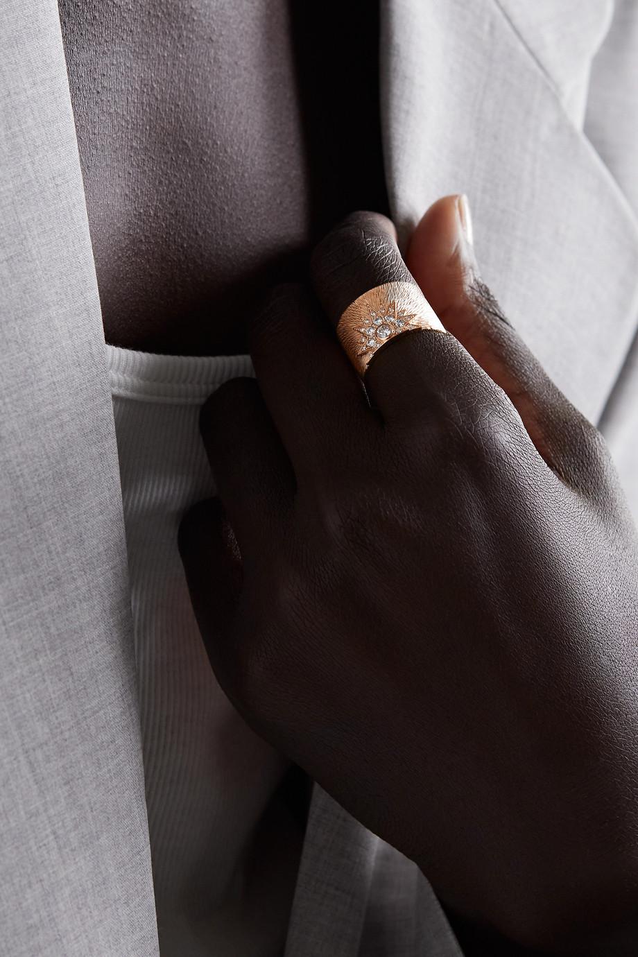 Piaget Sunlight Ring aus 18 Karat Roségold mit Diamanten