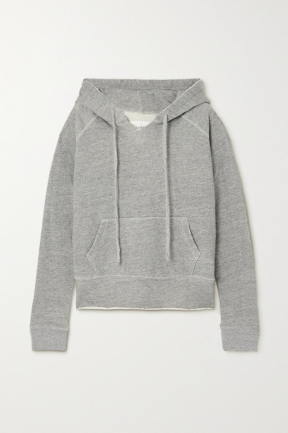 Nili Lotan Sweat à capuche en jersey de coton mélangé Rayne