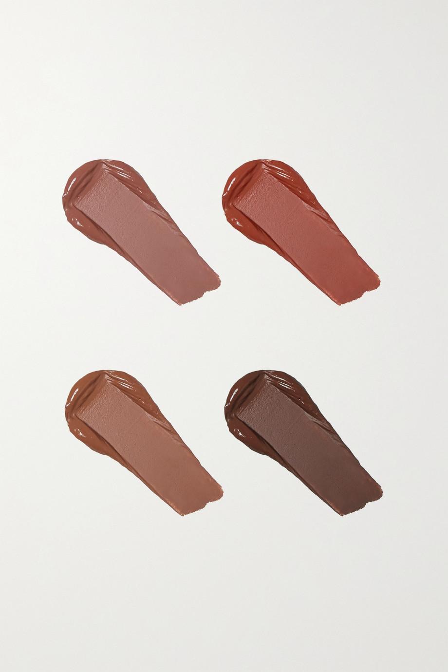 Huda Beauty Brown Obsessions Liquid Matte Mini Lipstick Set – Lippenstiftset