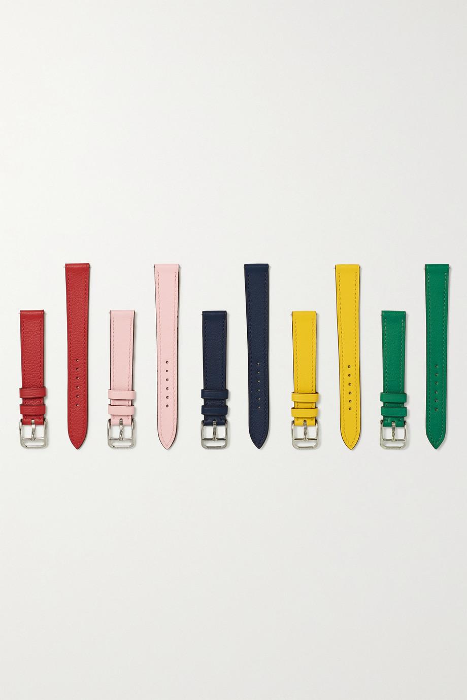 Hermès Timepieces Cape Cod Tour 23 mm Uhrenarmband aus Leder