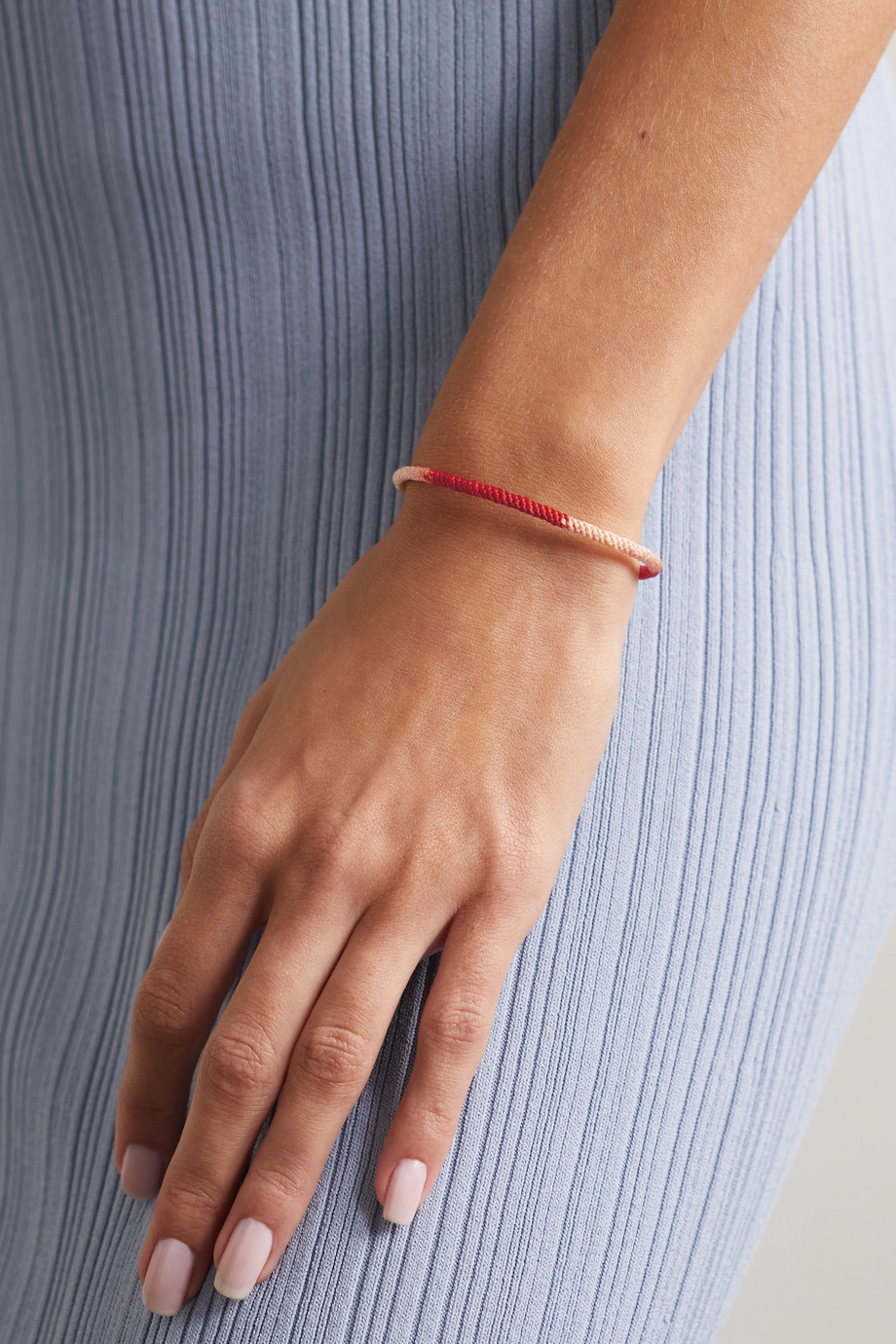 OLE LYNGGAARD COPENHAGEN Bracelet en or 18 carats (750/1000) et corde Life