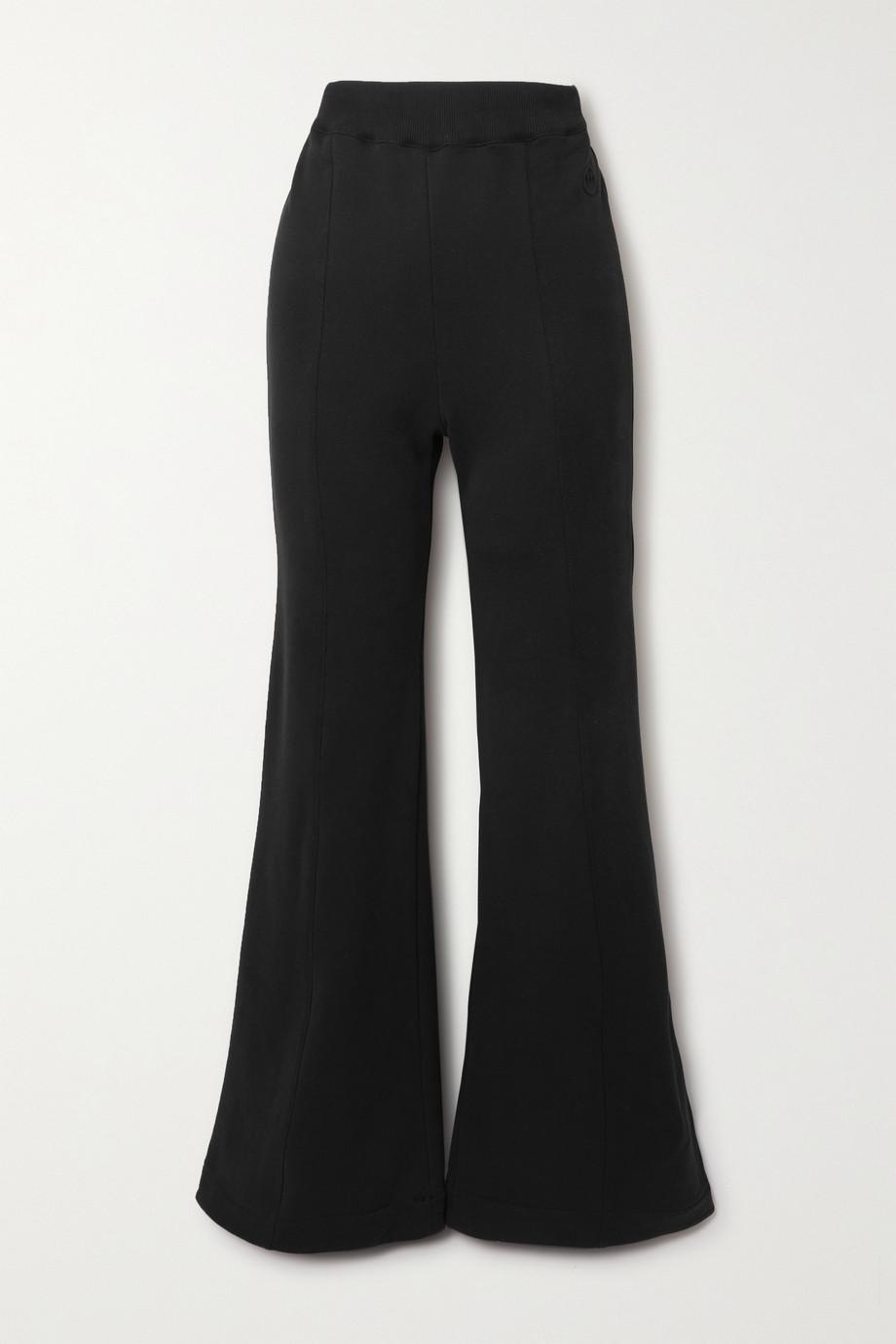 AZ Factory Pantalon évasé en coton biologique et SeaCell mélangés Free To