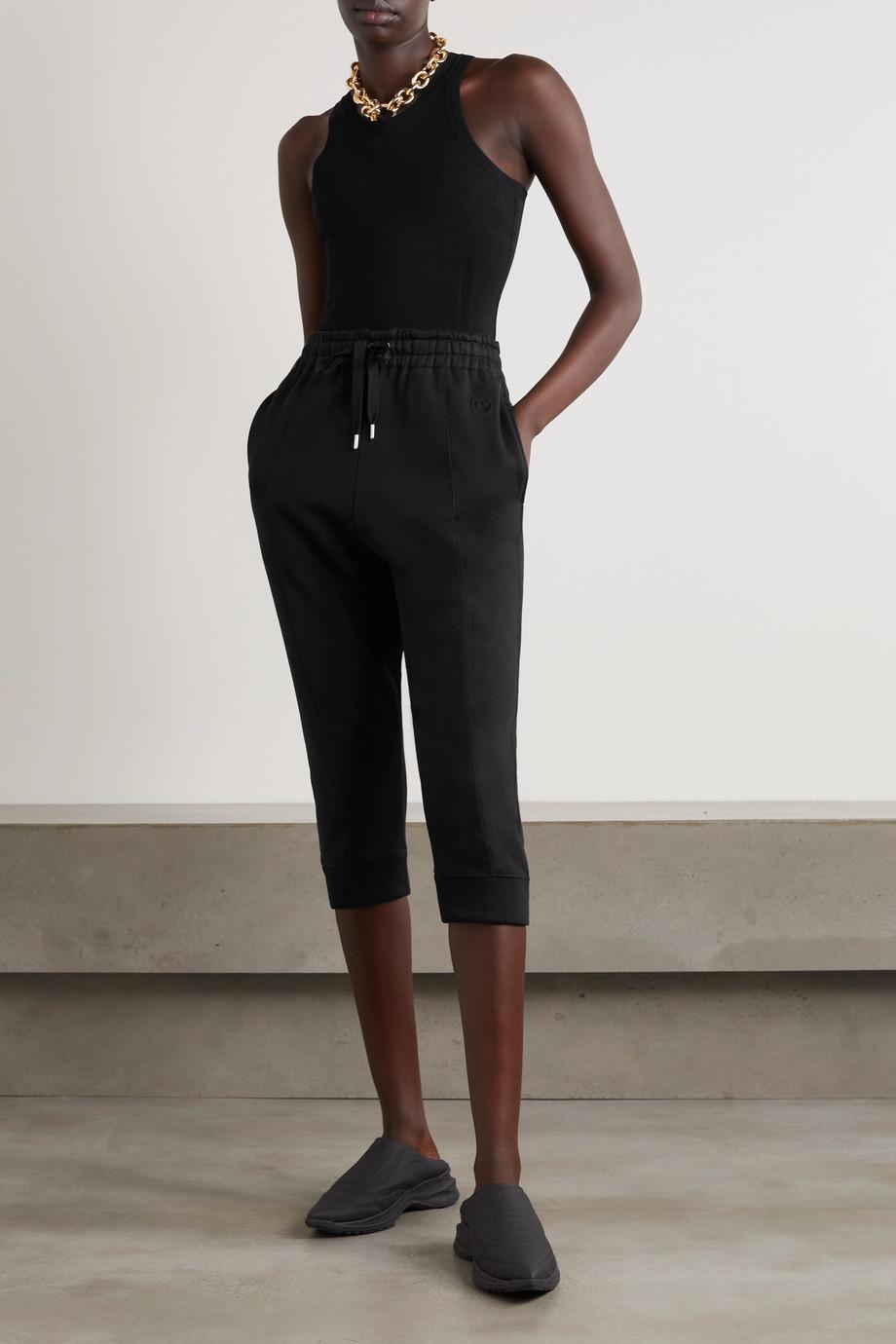 AZ Factory Pantalon de survêtement raccourci en coton biologique et SeaCell PYRATEX mélangés