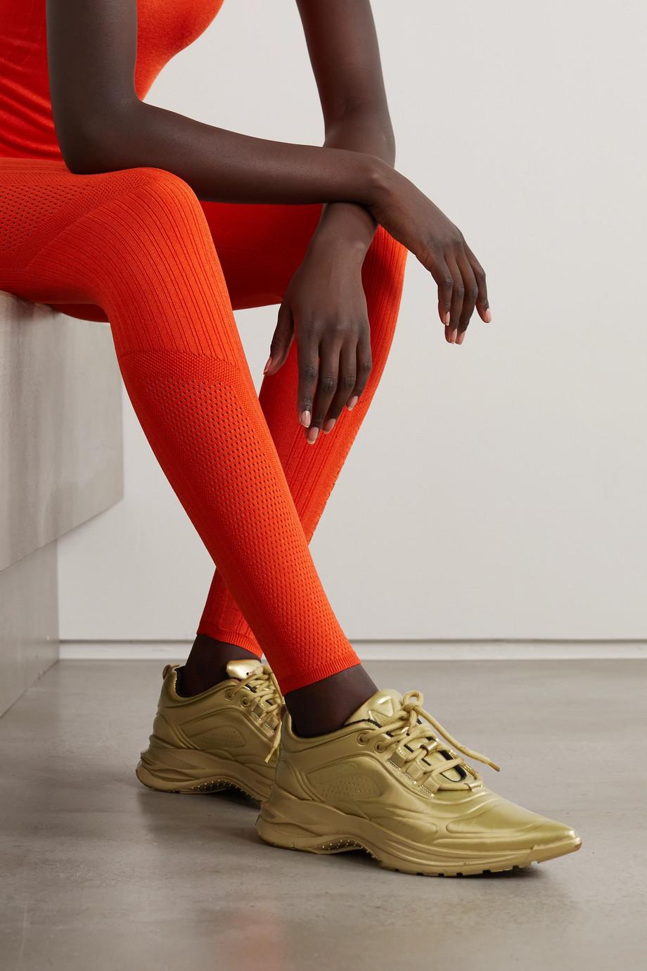 AZ Factory Collapsible-heel neoprene and mesh slip-on sneakers