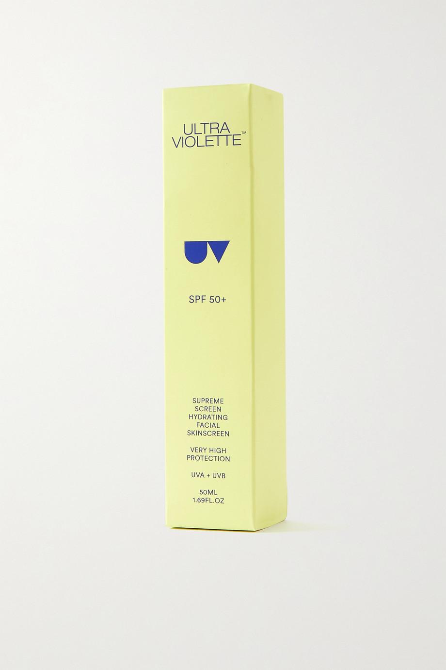 Ultra Violette Supreme Screen Hydrating Facial Skinscreen LSF 50+, 50 ml – Sonnencreme