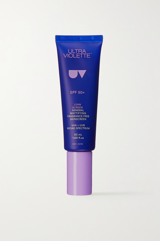 Ultra Violette Lean Screen Mineral Mattifying Skinscreen LSF 50+, 50 ml – Sonnencreme