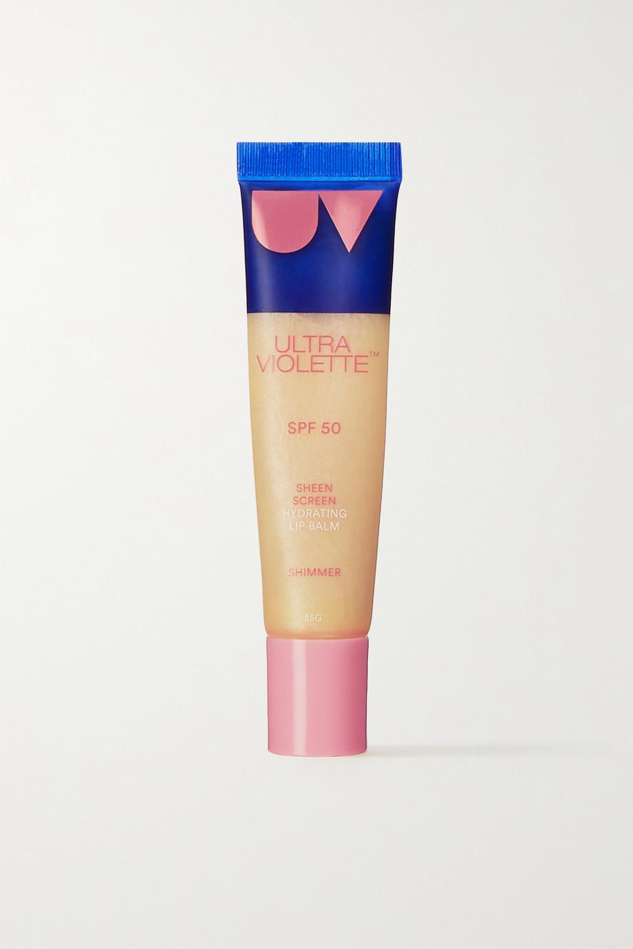 Ultra Violette Sheen Screen SPF50 Hydrating Lip Balm - Shimmer, 15g