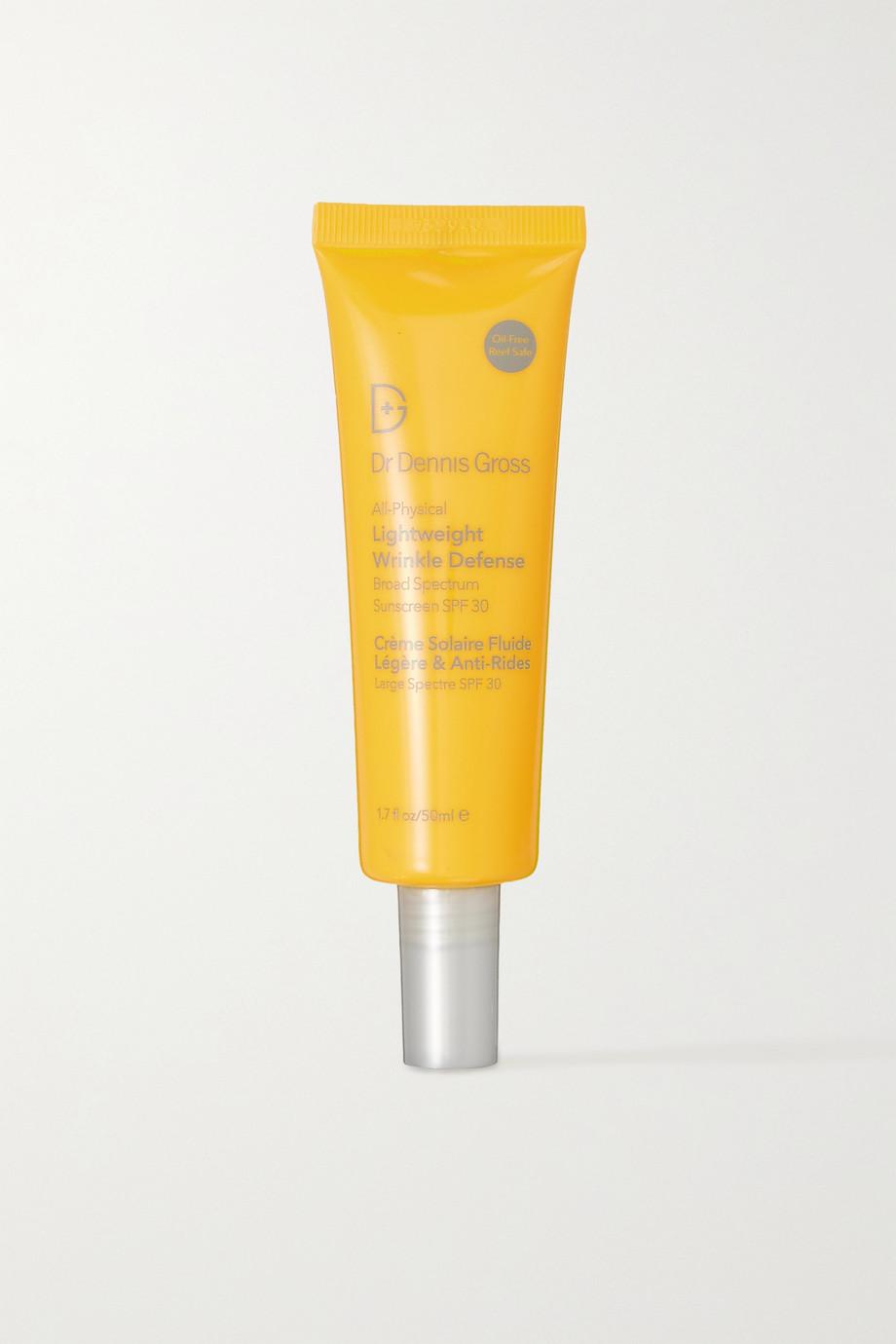 Dr. Dennis Gross Skincare All Physical Lightweight Wrinkle Defense Sunscreen LSF 30, 50 ml – Sonnencreme
