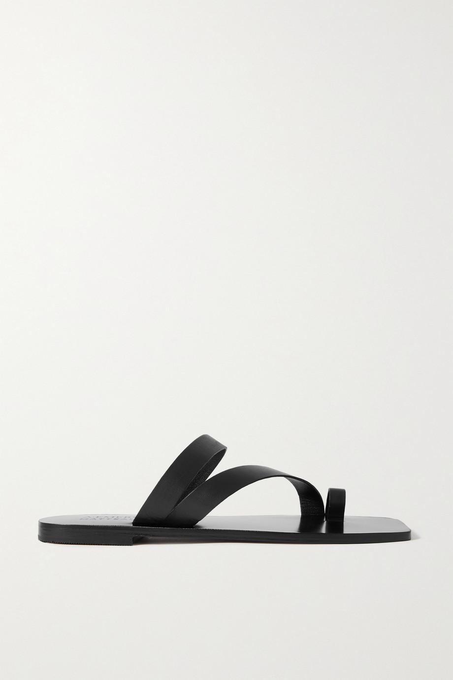 A Emery + Matteau Milos leather sandals