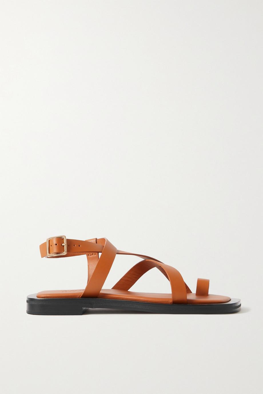 A Emery + Matteau Spargi leather sandals