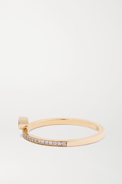 Sophie Bille Brahe Rue du Soleil 18-karat gold diamond ring