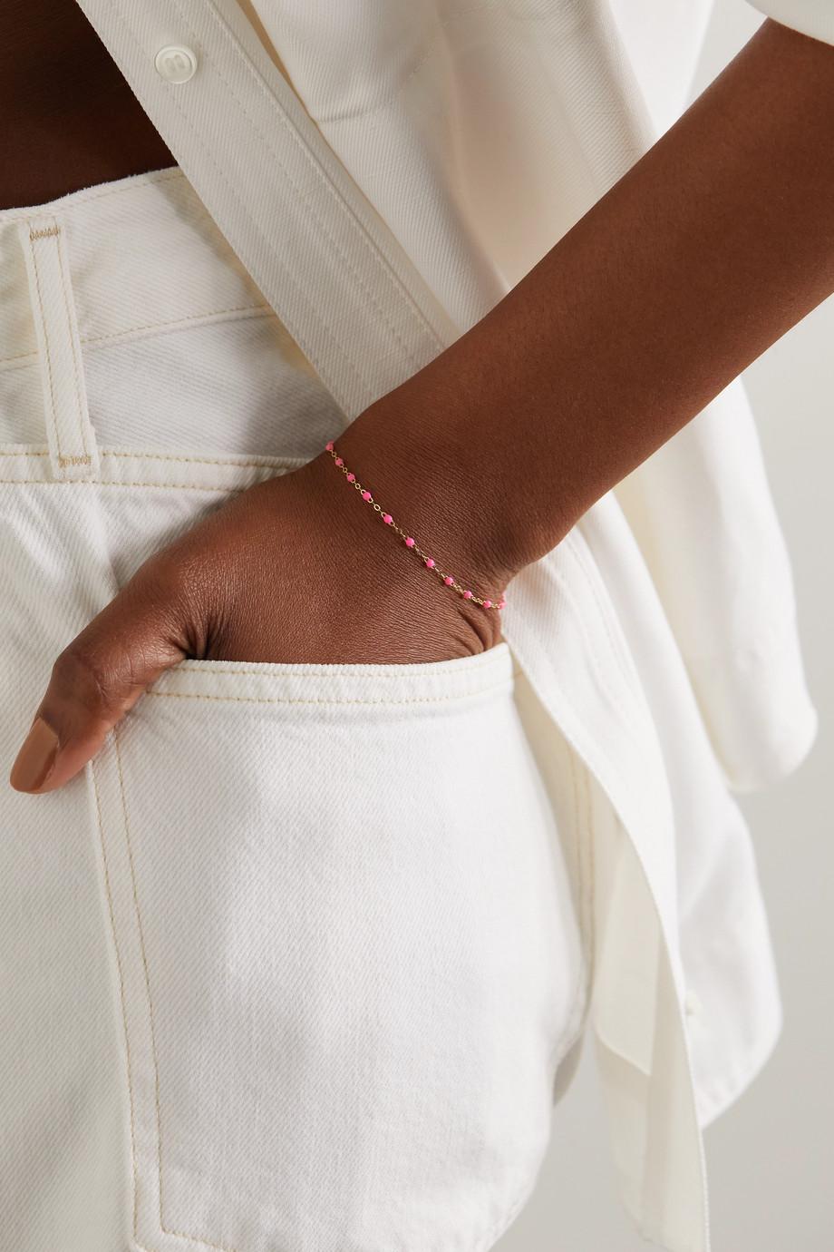 gigi CLOZEAU Classic Gigi Armband aus 18 Karat Gold mit Details aus Harz