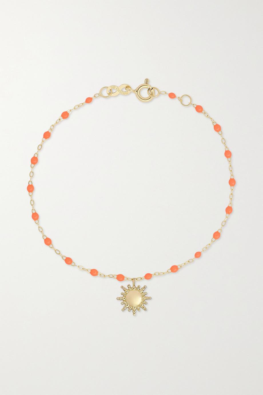 gigi CLOZEAU Bracelet en or 18 carats (750/1000) et résine Sun Classic Gigi