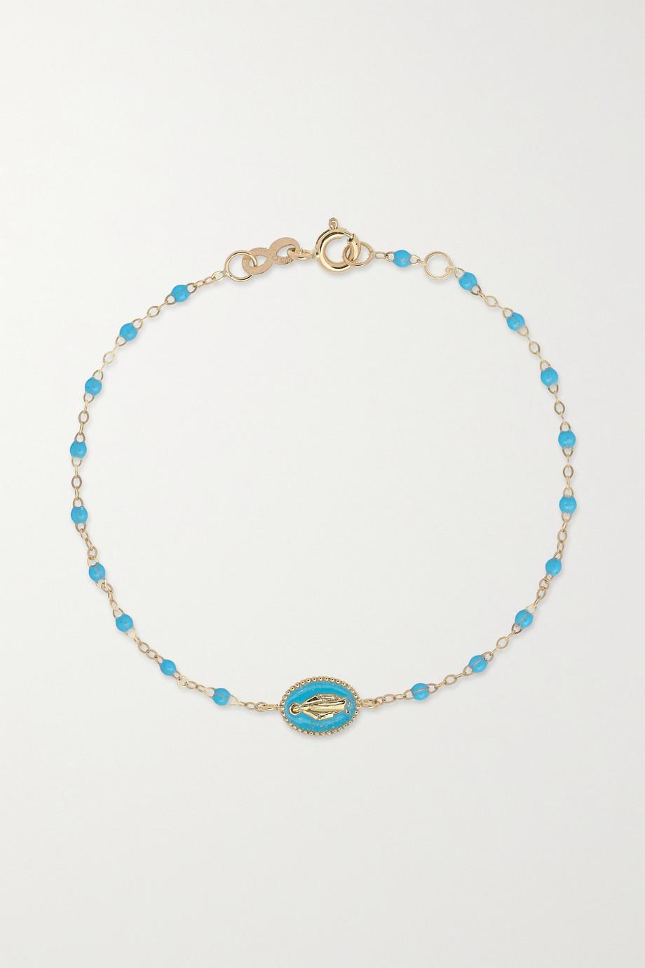 gigi CLOZEAU Bracelet en or 18 carats (750/1000) et résine Madone Classic Gigi