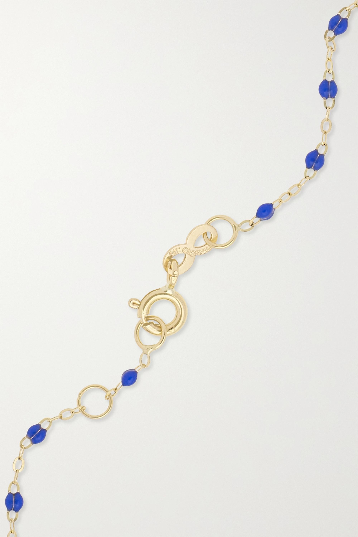 gigi CLOZEAU Bracelet en or 18 carats (750/1000) et résine Eye Classic Gigi