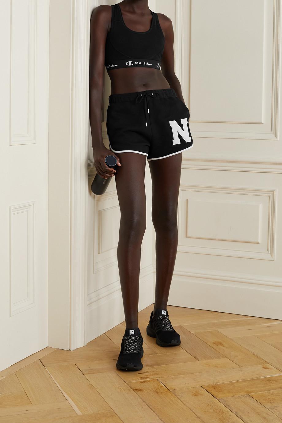 Nili Lotan + Champion appliquéd stretch sports bra