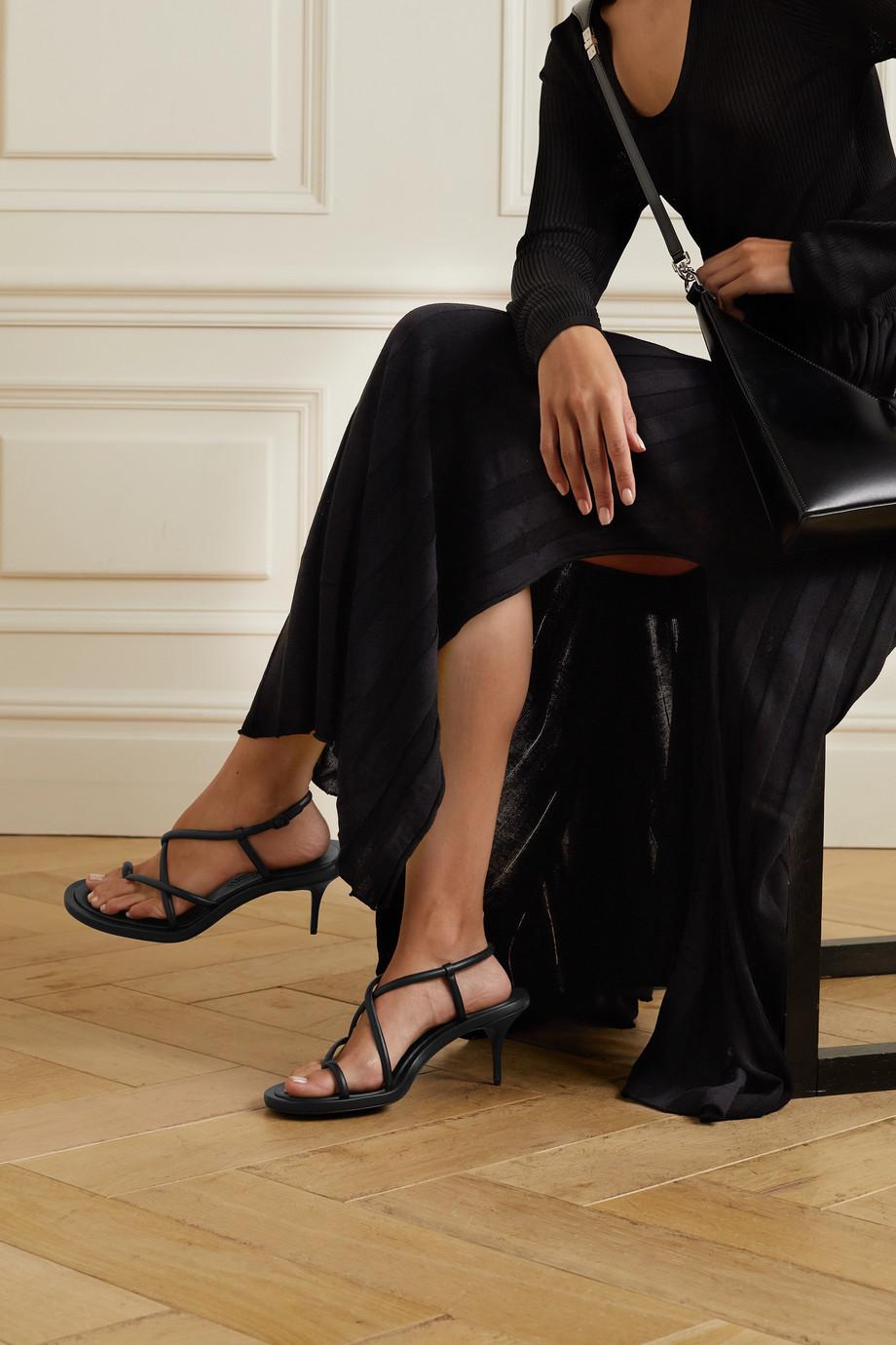 Alexander McQueen Sandalen aus Leder