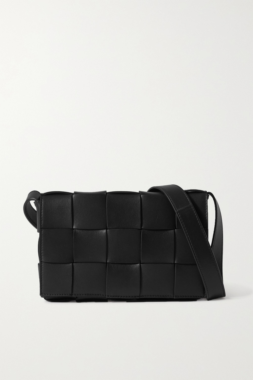 Bottega Veneta Cassette intrecciato leather shoulder bag