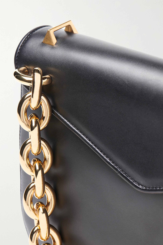 Bottega Veneta Mount große Schultertasche aus Leder
