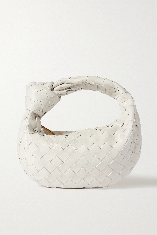 Bottega Veneta - Jodie mini knotted intrecciato leather tote