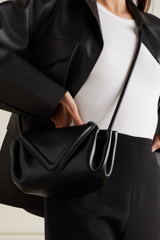 Bottega Veneta Sac porté épaule en cuir Beak Small
