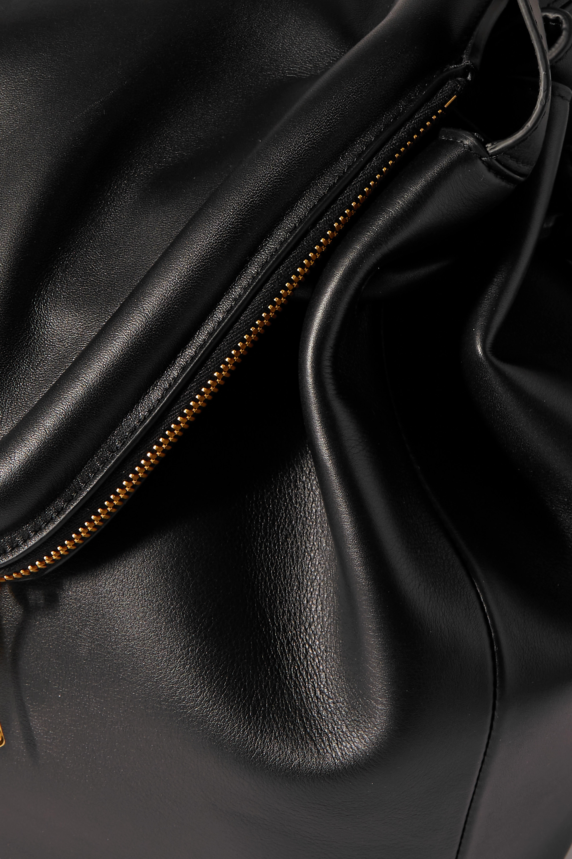 Bottega Veneta Sac porté épaule en cuir Beak Large
