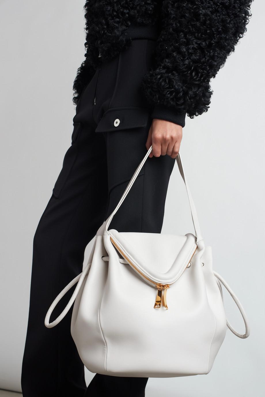 Bottega Veneta Beak large leather shoulder bag