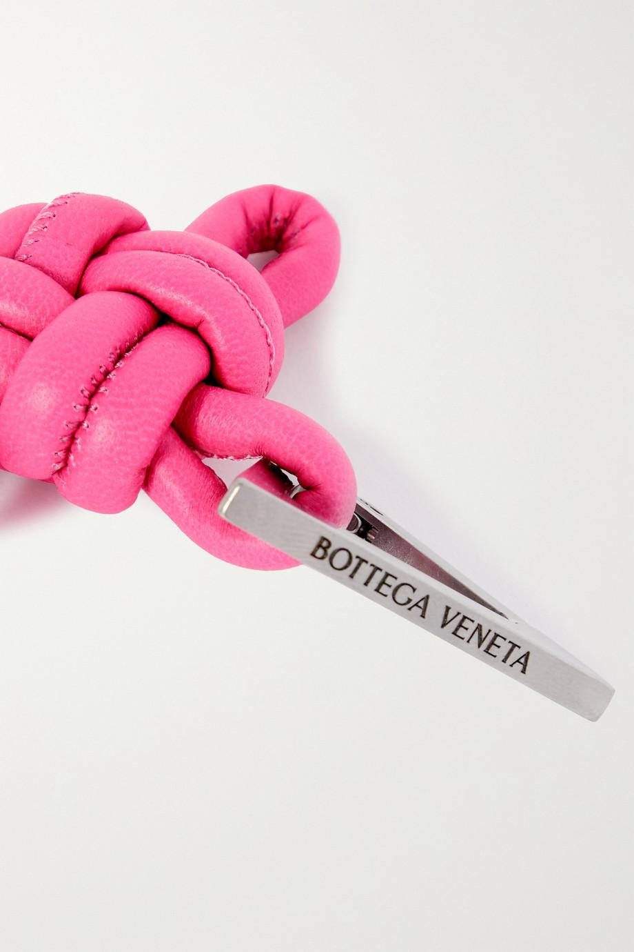 Bottega Veneta Knotted leather keyring