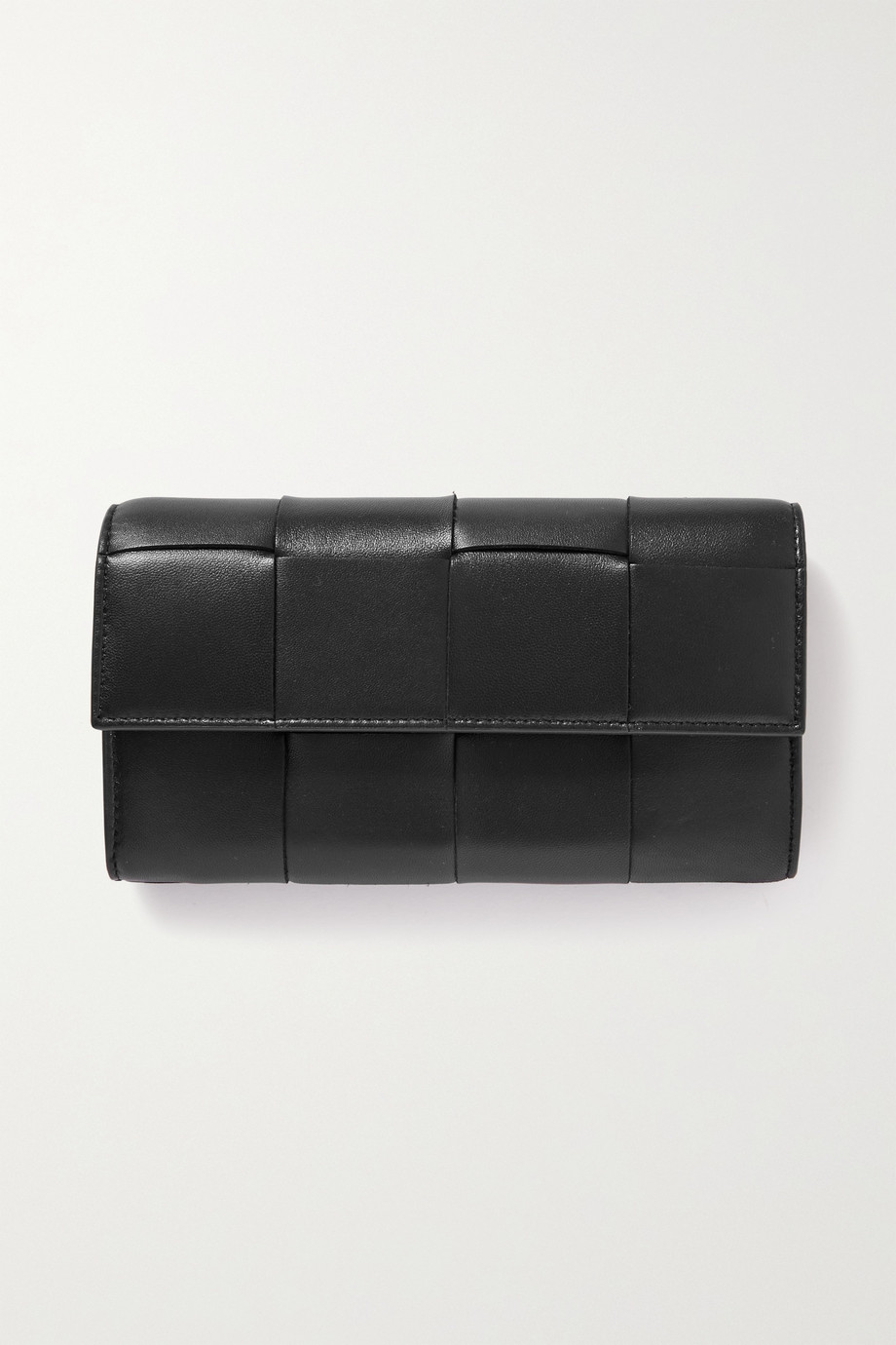 Bottega Veneta Cassette intrecciato leather wallet
