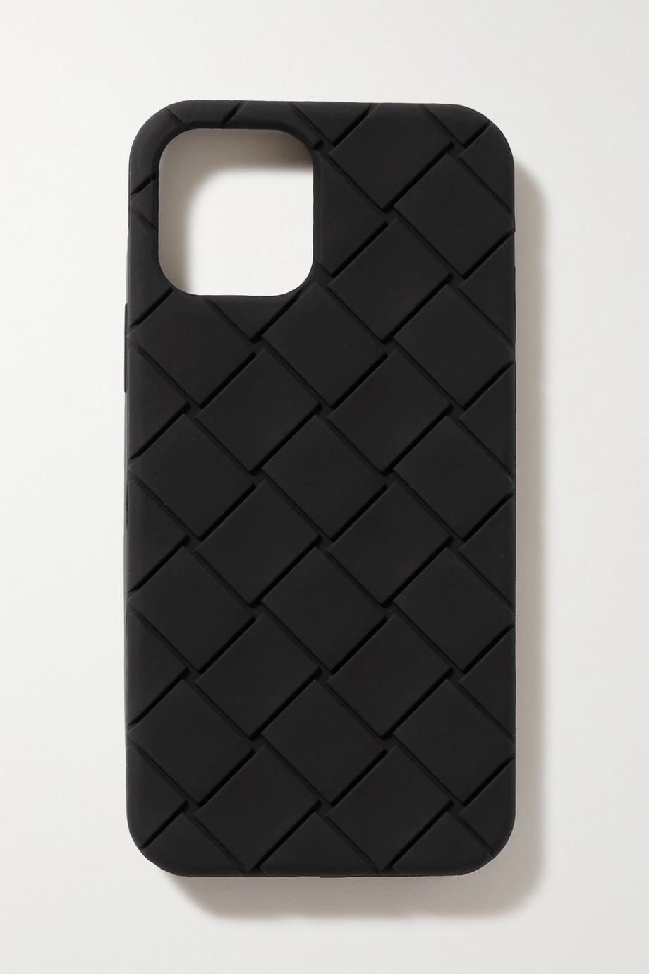 Bottega Veneta Intrecciato rubber iPhone 12 Pro case
