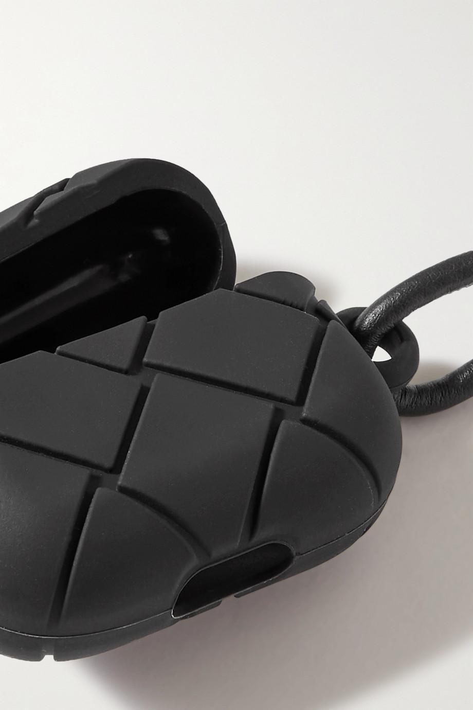 Bottega Veneta Intrecciato rubber AirPods case