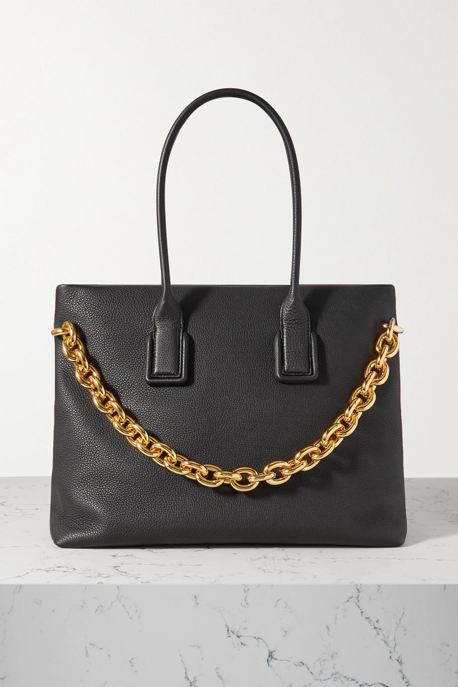 Bottega Veneta Chain Tote aus strukturiertem Leder