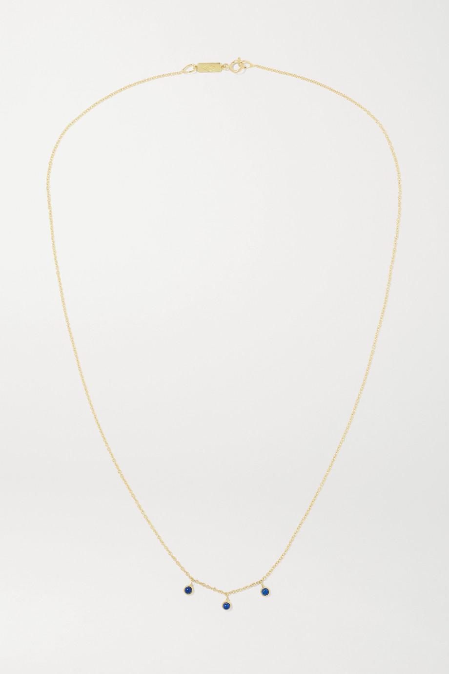 Jennifer Meyer 18-karat gold lapis lazuli necklace