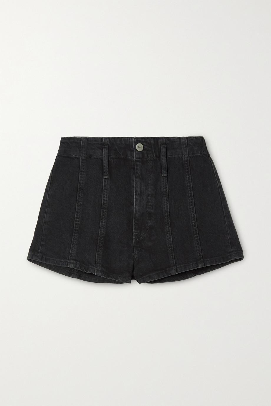 Reformation + NET SUSTAIN Eva organic denim shorts