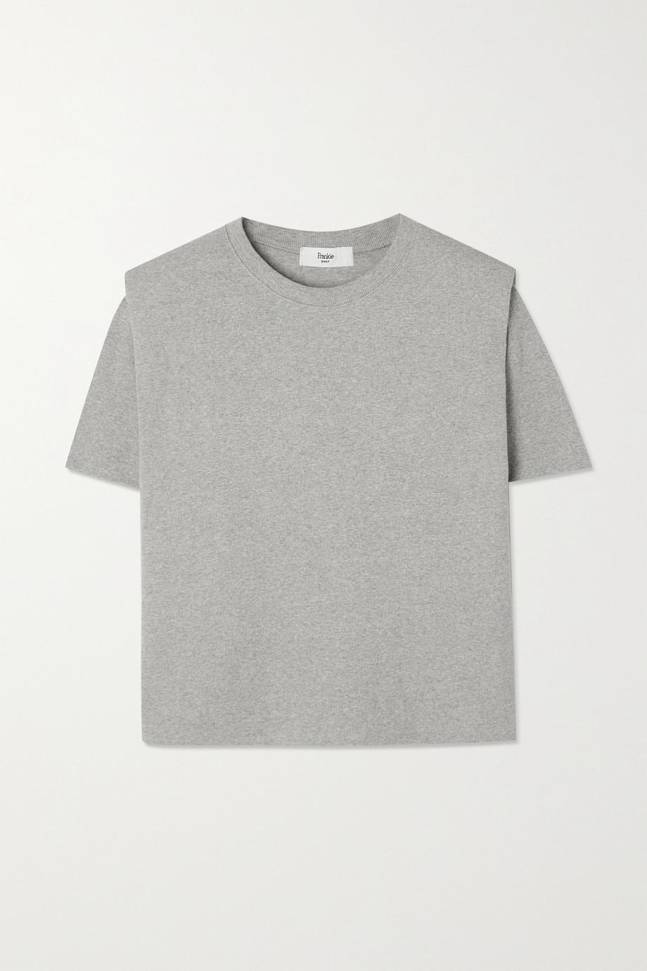 Frankie Shop Flora T-Shirt aus Baumwoll-Jersey